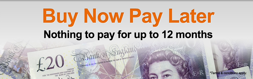 Buy Now Pay Later Nothing to pay for up to 12 months